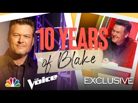 Coaches Kelly Clarkson, Nick Jonas and John Legend Are Rookies Compared to Blake - The Voice 2021
