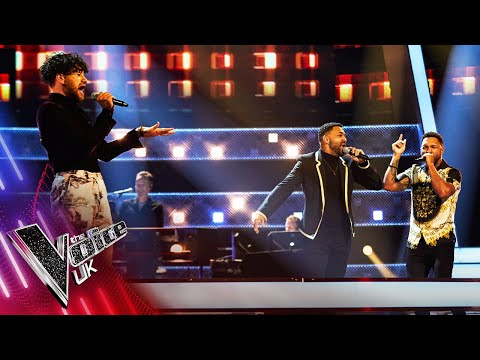 Benjamin Warner VS 2che - 'I Knew You Were Waiting For Me' | The Battles | The Voice UK 2021