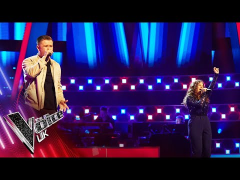Nathan Smoker VS Leah Cobb - 'Stop This Flame' | The Battles | The Voice UK 2021