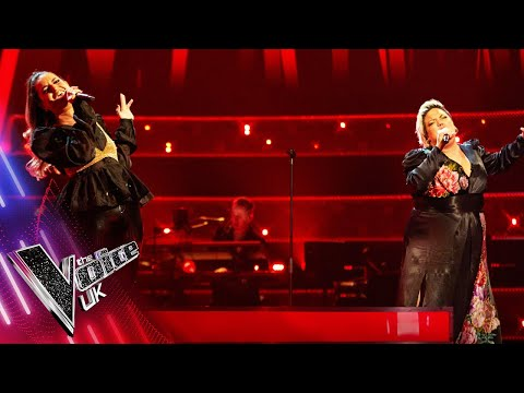 Hannah Williams VS Sami Nathan - 'Cry Me A River' | The Battles | The Voice UK 2021
