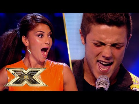 YODELING Barclay performs ONE DIRECTION cover in jaw-dropping audition! | The X Factor UK