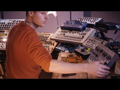 Joris Voorn Studio Jam | Techno Melodic Trippy Minimal Whatever.. (4K Anamorphic)