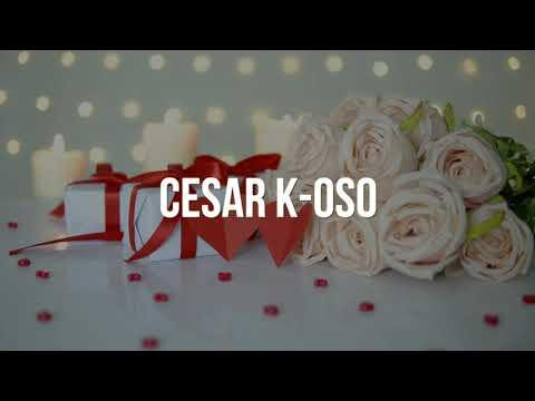 Cesar K - Oso - Tengo Planes Para Ti (Lyric Video)