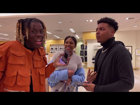 MAKING COUPLES SWITCH PHONES Loyalty Test 4 💔 ATLANTA MALL EDITION | PUBLIC INTERVIEW