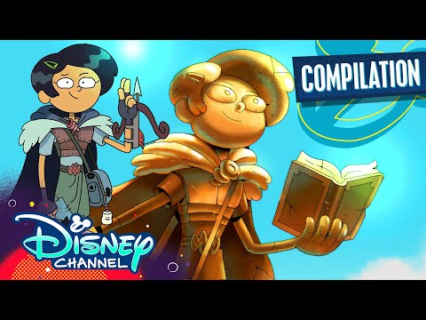 Epic Inquests of Marcy | Amphibia | Disney Channel