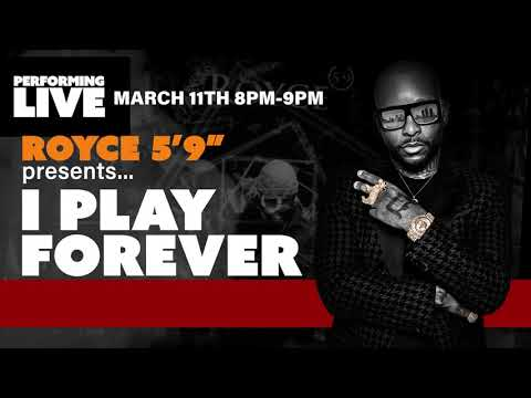 """Royce 5'9"""" historic LIVE INTERACTIVE eConcert on March 11,  2021"""