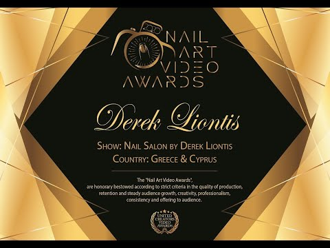 United Creators Video Awards / Nail Art Video Awards winner Greece. Διάκριση, Συγκίνηση & Σκάνδαλο!