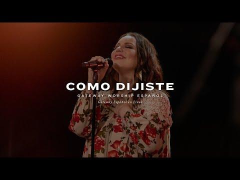 Como Dijiste | con Christine D'Clario y Gateway Worship Español