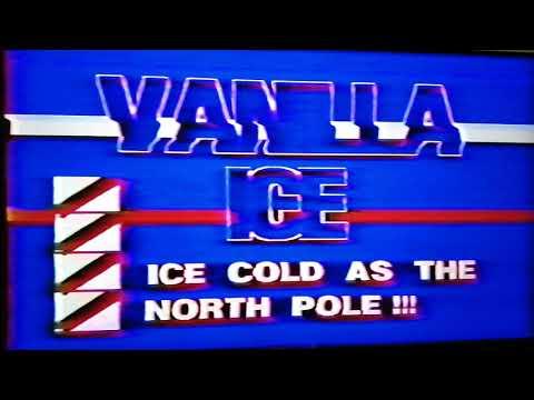 Vanilla Ice | Ice Ice Baby & Hooked | Tyler, TX 4/2/1990