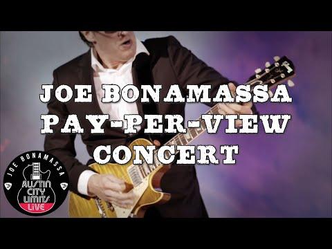 Joe Bonamassa Pay-Per-View Concert From ACL Live!