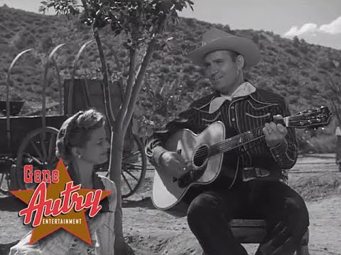 Gene Autry - Texans Never Cry (The Gene Autry Show S1E8 - Doublecross Valley 1950)