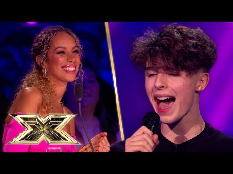Jed shows off incredible vocal range with EPIC Destiny's Child cover! | The X Factor UK