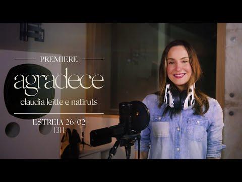 "PREMIERE: ""agradece"" - Claudia Leitte e @Natiruts (ative o lembrete no vídeo!)"