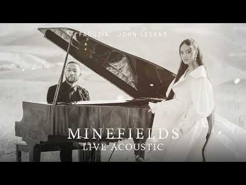 Faouzia & John Legend - Minefields (Live Acoustic) [Official Audio]