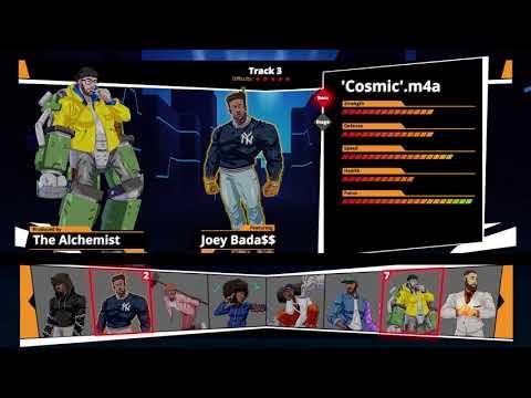 Denzel Curry - Cosmic.m4a (The Alchemist version feat. Joey BadA$$)