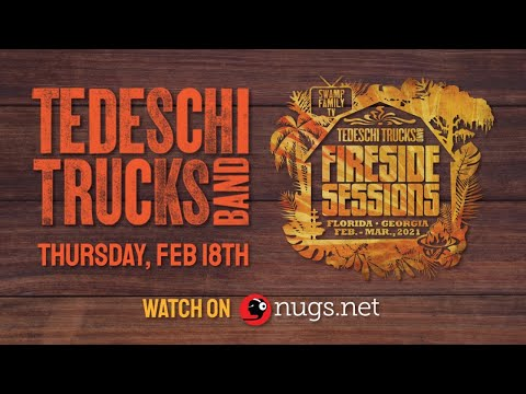 Swamp Family TV: Tedeschi Trucks Band 2/25/21 'The Fireside Sessions' LIVE Preview
