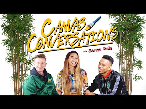 Sonna Rele Speaks On Her Early Musical Influences While Being Drawn  | Canvas Conversations
