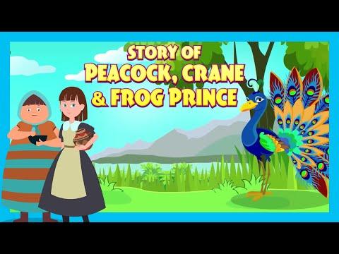 Story Of Peacock, Crane & Frog Prince | Kids Hut Storytelling | Tia & Tofu Storytelling | Kids Hut