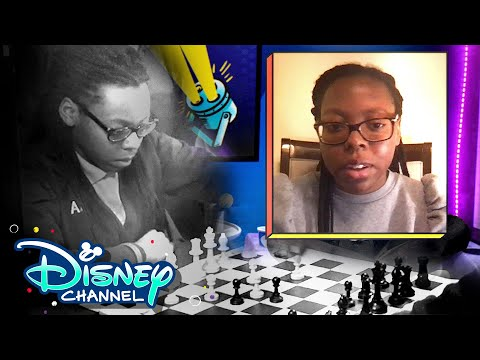 Chess Queen Jessica Hyatt ♟ | In The Nook | Disney Channel