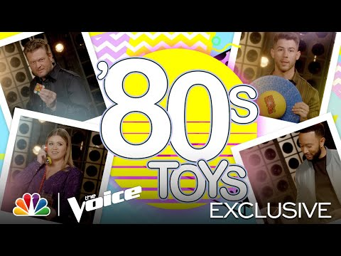 Kelly, John, Nick and Blake Remember These Totally Tubular Toys - The Voice 2021