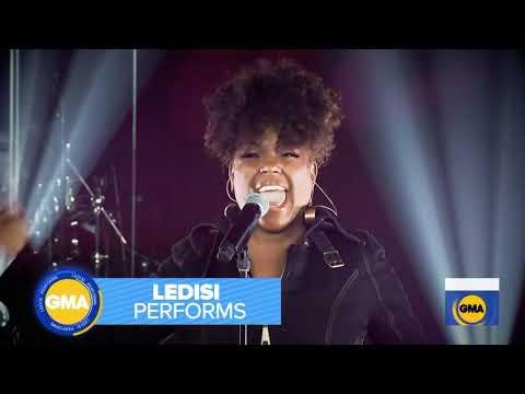 Ledisi performs STONE on Good Morning America 9/2/20