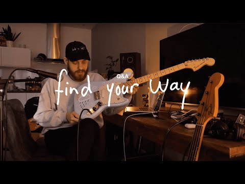 San Holo live find your way Q&A + guitar giveaway