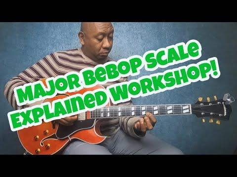 Major Bebop Scale Explained Workshop! #majorbebop #workshop