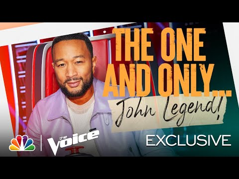 Coach John Wants to Make This Season Legendary - The Voice 2021