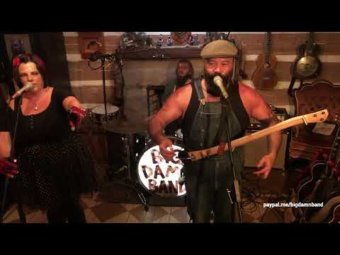 Rev. Peyton's Big Damn Band live from home in Brown County, IN