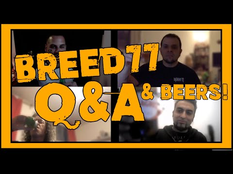 Breed 77 are back!! Live Q&A They reveal all plans for the future in live stream hangout 2021