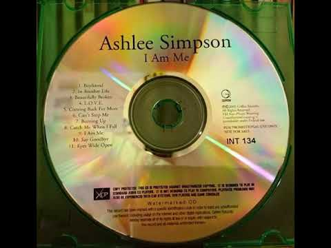 Ashlee Simpson - Can't Stop Me (I Am Me Promo Watermarked CD)