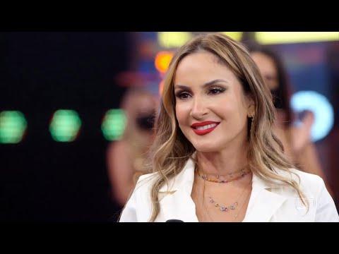 Claudia Leitte canta ''Beijar na Boca'' no Faustão