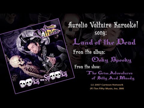 Land of the Dead - Aurelio Voltaire Karaoke (ENGLISH)