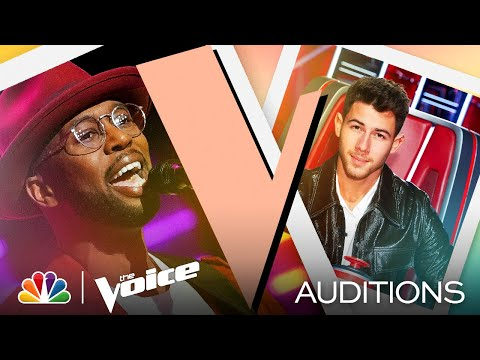 "Devan Blake Jones Shows His Range on H.E.R.'s ""Hard Place"" - The Voice Blind Auditions 2021"