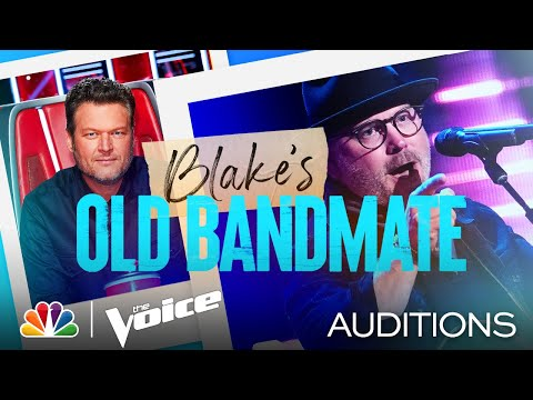 """Blake's Old Bandmate Pete Mroz on Blind Faith's """"Can't Find My Way Home"""" - Voice Blind Auditions"""