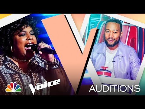 """Christine Cain Brings Soul to Harry Styles' """"Watermelon Sugar"""" - The Voice Blind Auditions 2021"""