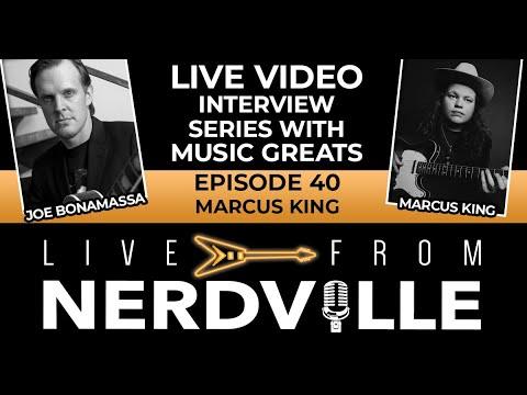 Live From Nerdville with Joe Bonamassa - Episode 40 - Marcus King