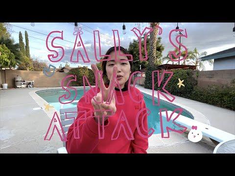 Sally's SNACK ATTACK ROAR: Episode 2 - THE BEST TURTLE CHIP YET!? 초코츄러스 꼬북칩/Choco Churro Turtle Chip