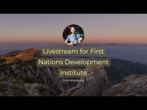 Livestream for First Nations Development Institute