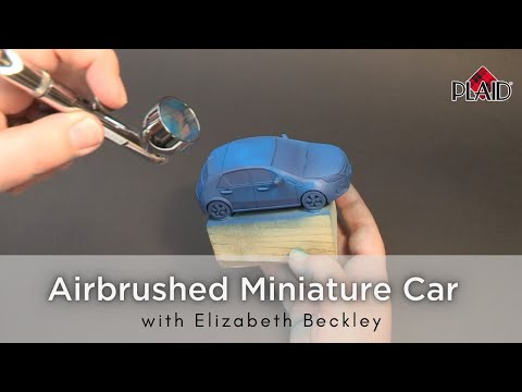 Painted Car Miniature Tutorial with Elizabeth Beckley