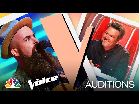 """Aaron Konzelman Brings His Rasp to Duran Duran's """"Ordinary World"""" - The Voice Blind Auditions 2021"""