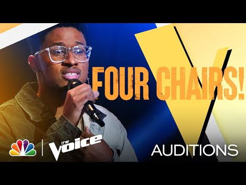 """Zae Romeo's Vulnerable Performance of Harry Styles' """"Falling"""" - The Voice Blind Auditions 2021"""