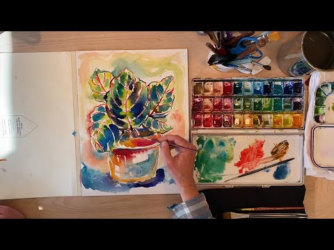 Paint and Play: Episode 13 - Prayer Plant