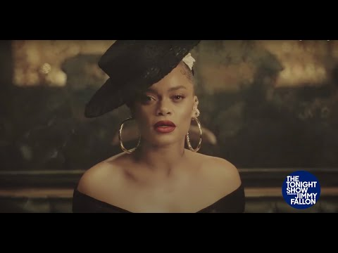 Andra Day - Strange Fruit/Tigress & Tweed Medley [The Tonight Show Starring Jimmy Fallon]