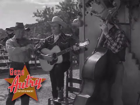 Gene Autry, Frankie Marvin and Pat Buttram - Pretty Mary (The Gene Autry Show S1E9 - The Posse 1950)