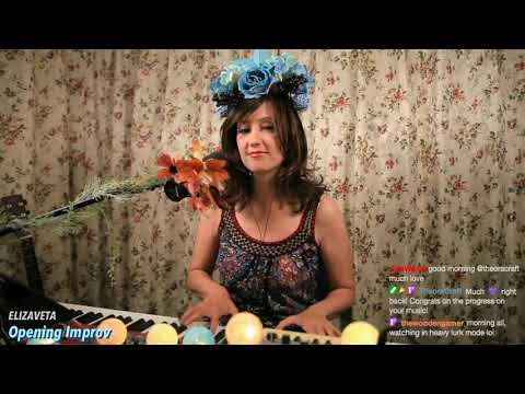 Stars Will Shine (♫ Live Improv on Twitch) - Elizaveta