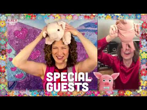 Come To Laurie Berkner's Springtime Party Virtual Concert