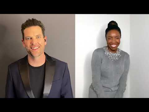 WRITTEN IN THE STARS from Aida | Chris Mann & Heather Headley (live from Broadway Smashes Covid)