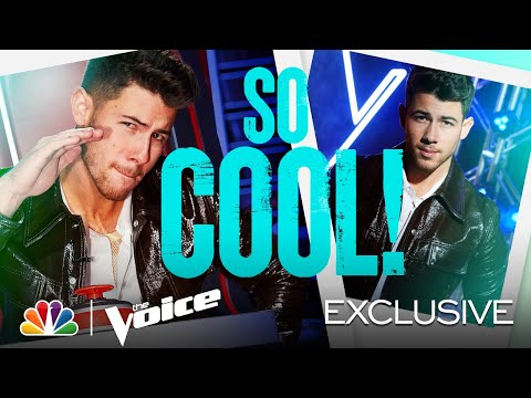 Nick Jonas Is the Coolest! - The Voice 2021