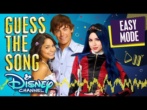 Guess the Song! Disney Channel Original Movie edition EASY MODE! | Disney Channel